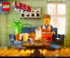 Emmet, il protagonista del film Lego