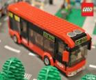 Bus urbano di Lego