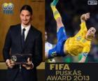 Premio Puskas FIFA 2013 per Zlatan Ibrahimovic