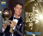 Cristiano Ronaldo Golden Ball FIFA 2013