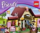 La scuderia di Heartlake, Lego Friends