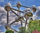 Atomium, Bruxelles, Belgio