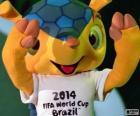 Fuleco, la mascotte ufficiale della Coppa del mondo 2014 in Brasile è un armadillo