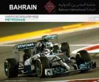 Lewis Hamilton campione Gran Premio Bahrain 2014