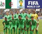 Selezione di Algeria, Gruppo H, Brasile 2014
