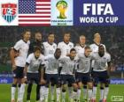Selezione degli Stati Uniti, Gruppo G, Brasile 2014