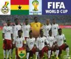 Selezione del Ghana, Gruppo G, Brasile 2014