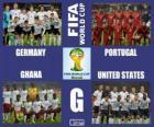Gruppo G, Brasile 2014