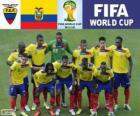 Selezione di Ecuador, Gruppo E,  Brasile 2014