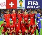 Selezione della Svizzera, Gruppo E, Brasile 2014