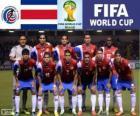 Selezione del Costa Rica, Gruppo D, Brasile 2014