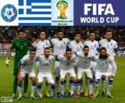 Selezione di Grecia, Gruppo C, Brasile 2014