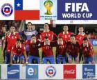 Selezione del Cile, Gruppo B, Brasile 2014