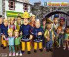 Personaggi principali di Sam il pompiere