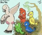Uccelli di colori, Julieta Vitali