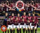 Sparta Praga, campione del campionato di calcio ceco, Gambrinus Liga 2013-2014