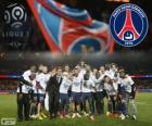 Paris Saint Germain, PSG, campione della Ligue 1 2013-2014, campionato di calcio da Francia