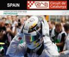 Lewis Hamilton, campione del Gran Premio di Spagna 2014