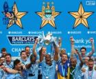 Manchester City, campione Premier League 2013-2014, Inghilterra Football League