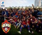 CSKA Mosca, campione Lega Prima 2013-2014, il campionato di calcio russo