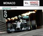 Lewis Hamilton - Mercedes - Gran Premio di Monaco 2014, 2 ° classificata