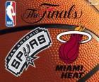 2014 NBA le finali. San Antonio Spurs vs Miami Heat