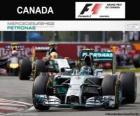 Nico Rosberg - Mercedes - Gran Premio del Canada 2014, 2º classificato