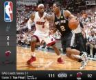 2014 NBA Finals, 3a partita, San Antonio Spurs 111 - Miami Heat 92