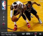 2014 NBA Finals, quarto partito, San Antonio Spurs 107 - Miami Heat 86