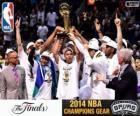 Spurs, campioni NBA 2014