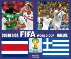 Costa Rica - Grecia, ottavi di finale, Brasile 2014