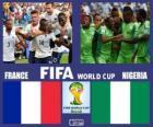 Francia - Nigeria, ottavi di finale, Brasile 2014