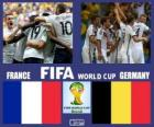 Francia - Germania, quarti di finale, Brasile 2014