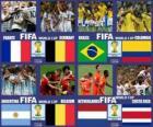 Quarti di finale, Brasile 2014