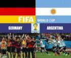 Germania vs Argentina. Finale della Coppa del Mondo FIFA Brasile 2014