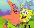 SpongeBob e Patrick molto felice