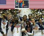 Stati Uniti d'America, campione di Campionato mondiale di pallacanestro 2014