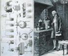 Antoine Lavoisier (1743-1794), chimico francese, considerato il creatore della moderna chimica