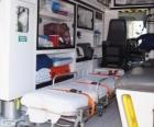 All'interno di un'ambulanza