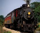 Locomotiva di un treno a vapore