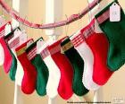 Calze di Natale in vari colori