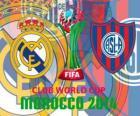 Real Madrid vs San Lorenzo. Finale de Coppa del mondo per club FIFA 2014 Marocco