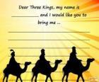 Lettera ai Re Magi