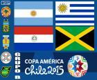 Gruppo B, Copa America 2015