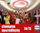 Olympiacos FC campione 14-15