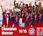 Bayern Monaco, campione 2014-15