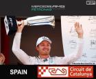 Rosberg G.P Spagna 2015