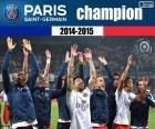 PSG, campione del 2014-2015