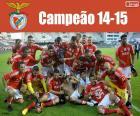 Benfica, campione del 2014-2015