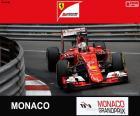 Sebastian Vettel, Ferrari, 2015 Monaco Grand Prix, secondo posto